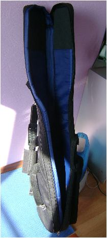 Bass guitar bag