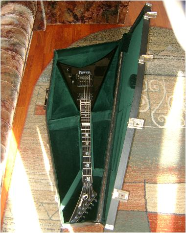 Hardshell case for guitars Explorer, Flying V, Viper